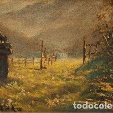 Arte: PAISAJE FIRMADO FERNANDEZ S.XX. Lote 268442364