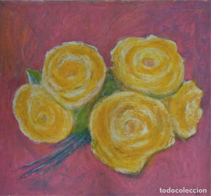 FOR SHE PABLO PLAYA 43X39X0,5 CM OLEO (Arte - Pintura - Pintura al Óleo Contemporánea )
