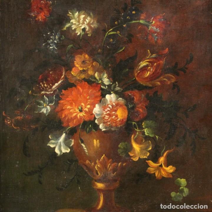 ANTIGUO BODEGÓN DEL SIGLO XVIII (Arte - Pintura - Pintura al Óleo Antigua siglo XVIII)