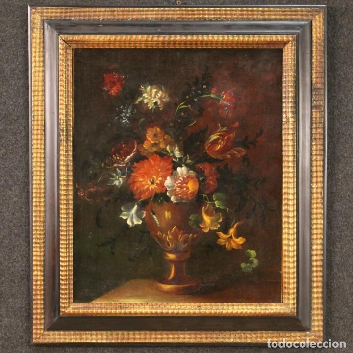 Arte: Antiguo bodegón del siglo XVIII - Foto 2 - 268752149