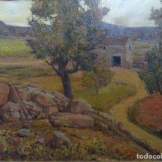 Arte: EXCELENTE ÓLEO SOBRE TELA DE ANTONI COSTA ELIAS (1895-1965). ESCUELA CATALANA.. Lote 268771409