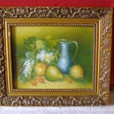 Arte: ANCIEN TABLEAU PEINTURE SUR BOIS. Lote 268958869