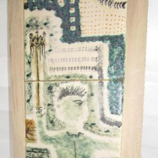Arte: AZULEJO PINTADO CATALAN JOAN BROTAT VILANOVA (BARCELONA, 1920-1990). Lote 269166723