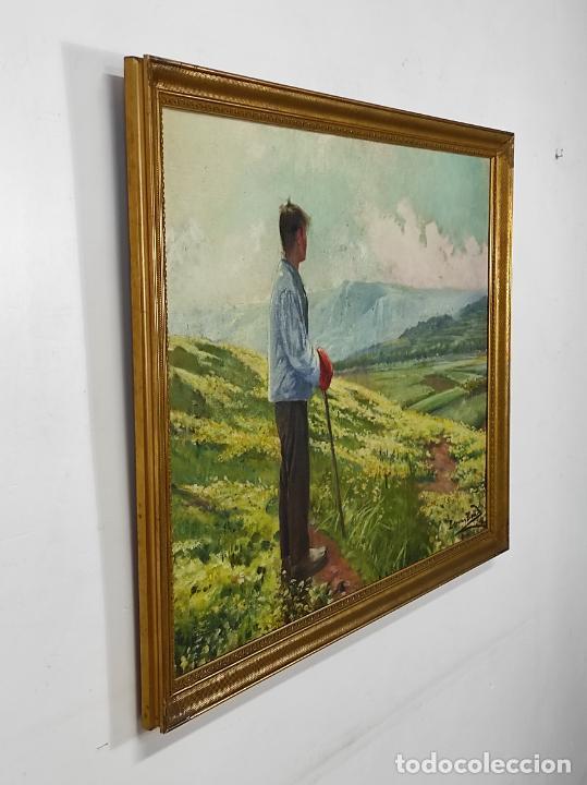 Arte: Berga y Boada (Olot 1872- Sant Feliu de Guixols 1923 - Óleo sobre Tela - Paisaje - Año 1910 - Foto 6 - 269602623