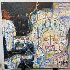 """Arte: PINTURA AL ÓLEO SOBRE LIENZO POR LE MONZÓ """"ABUNA DE BUSHEMAYA"""" AÑO 2007. Lote 269602893"""