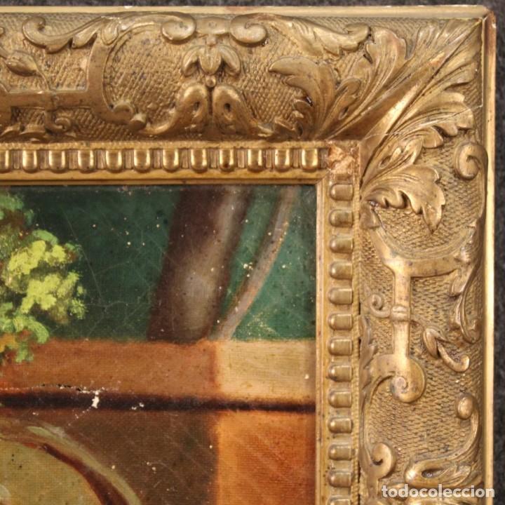 Arte: pequeña pintura romántica del siglo XIX - Foto 5 - 269626838