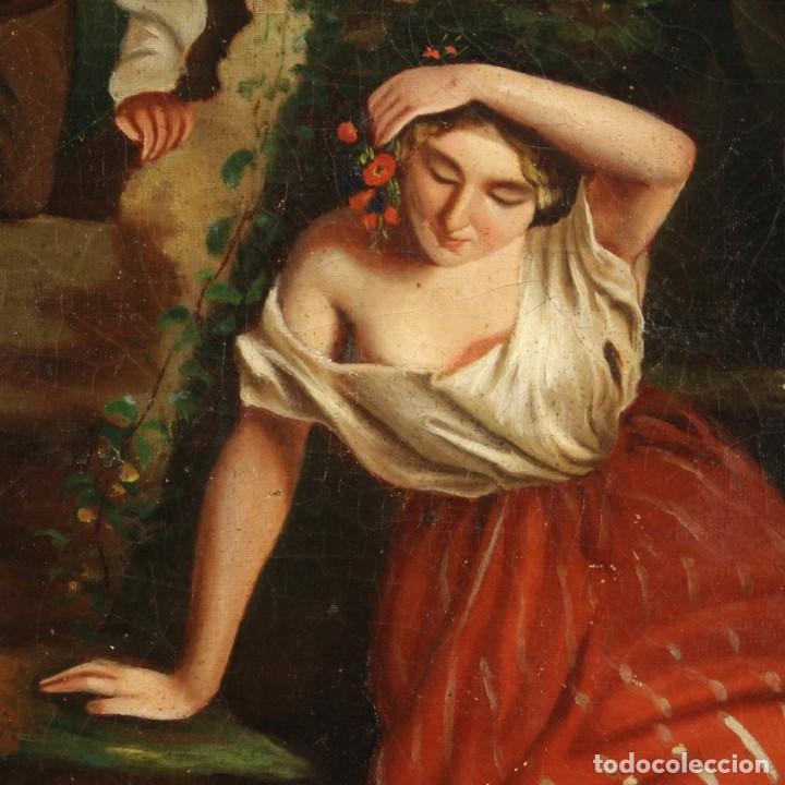Arte: pequeña pintura romántica del siglo XIX - Foto 6 - 269626838
