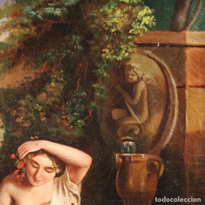 Arte: pequeña pintura romántica del siglo XIX - Foto 8 - 269626838