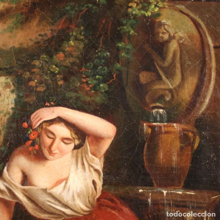 Arte: pequeña pintura romántica del siglo XIX - Foto 11 - 269626838