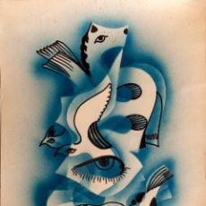 Arte: GERARD LE NALBAUT - SANS TITRE - 1975. Lote 269655618
