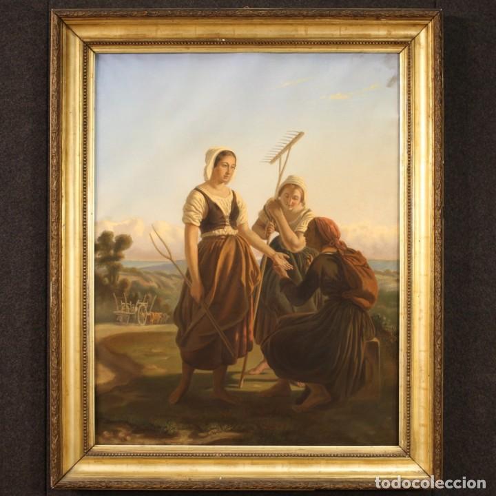Arte: Hermoso pastel del siglo XIX - Foto 2 - 269714278