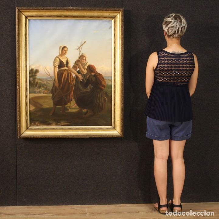 Arte: Hermoso pastel del siglo XIX - Foto 3 - 269714278