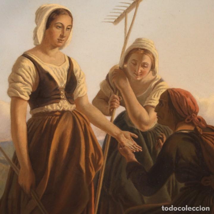 Arte: Hermoso pastel del siglo XIX - Foto 6 - 269714278