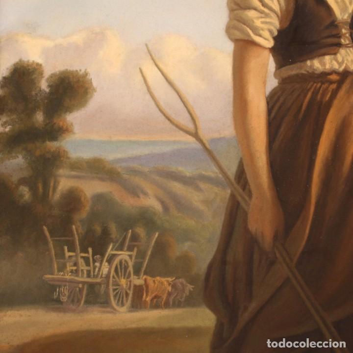 Arte: Hermoso pastel del siglo XIX - Foto 7 - 269714278