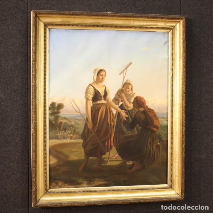 Arte: Hermoso pastel del siglo XIX - Foto 11 - 269714278