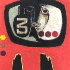 Arte: ANTONI GUANSÉ - TÉCNICA MIXTA SOBRE PAPEL -. Lote 269842583