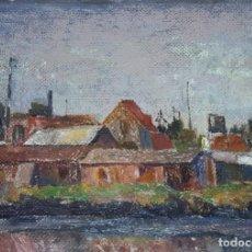 Arte: MARCUCCI MARIO (1910-1992) (ATRIB.) PINTOR ITALIANO. OLEO S/CARTÓN.. Lote 269984848