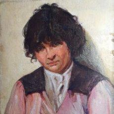 Arte: MERCADANTE BIAGIO (1893-1971)(ATRIB.) PINTOR ITALIANO. OLEO S/CARTÓN.. Lote 269984998