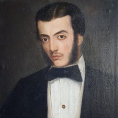 Arte: TRECOURT GIACOMO (1812-1882)(ATRIB.) PINTOR ITALIANO. OLEO S/TELA, POSTERIORMENTE PEGADO A CARTÓN. Lote 269985108