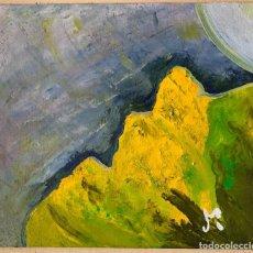 Arte: ANTONI MARTÍ, SEUDÓNIMO (CASSERRES, 1.960). ÓLEO A ESPÁTULA SOBRE TABLERO 26 X 24. Lote 270102503