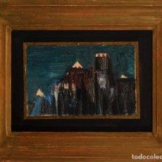 Arte: ÓSCAR DOMÍNGUEZ ÓLEO SOBRE LIENZO CON CERTIFICADO DE AUTENTICIDAD DE ANA VAZQUEZ DE PARGA 1954. Lote 270138848