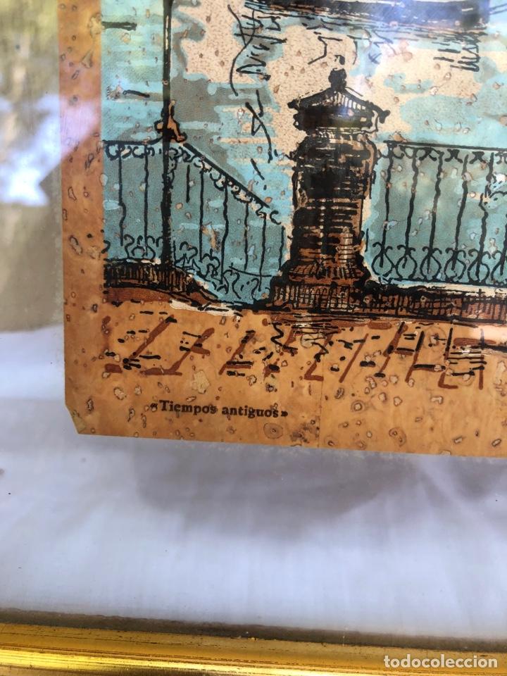 Arte: J.sarquella . Precioso dibujo o óleo sobre papel .bergantin año 1848 . Tiempos antiguos . Ver fotos - Foto 3 - 270918713