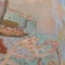 """Arte: """"LAS DELICIAS DEL JARDÍN"""" -ACRILICA-. Lote 271469248"""