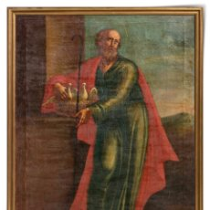 "Arte: ESCUELA ESPAÑOLA DEL SIGLO XVIII "" SAN JOAQUIM "". Lote 271572788"