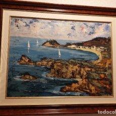Arte: CUADRO AL ÓLEO DE JOSEP TUR. Lote 271698473