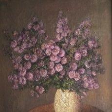 Arte: ÓLEO, JOSEFA SAULA PALOMER (BARCELONA, 1926 – 2011) 60X50. Lote 271815128