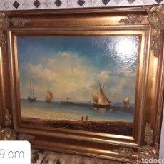 Art: CUADRO OLEO SOBRE TABLA, VER FOTOS.... Lote 271942428