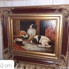 Arte: CUADRO OLEO SOBRE TABLA, VER FOTOS.... Lote 271943943