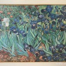 "Art: ""IRIS"" (1889) - VINCENT VAN GOGH. Lote 271997273"