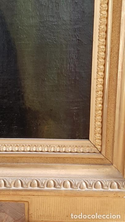 Arte: ANTIGUO RETRATO DAMA NOBLE , OLEO SOBRE LIENZO , ORIGINAL SIGLO 18 . DE MUSEO - Foto 15 - 272478138
