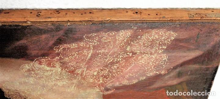 Arte: Cuadro antiguo de pintura al óleo sobre lienzo. - Foto 14 - 272862628