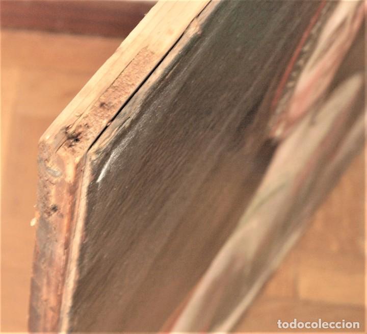 Arte: Cuadro antiguo de pintura al óleo sobre lienzo. - Foto 15 - 272862628