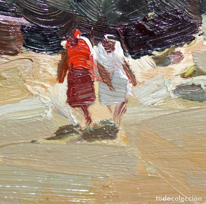 Arte: JOSEP Mª VILA CAÑELLAS (1913 - 2001) OLEO SOBRE TELA. VISTA DE UN PAISAJE RURAL - Foto 6 - 273267403