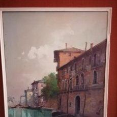 Arte: ÓLEO DEL PINTOR ITALIANO ALDO MARANGONI. Lote 274208808