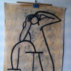 Arte: ANTONIO CASTOR. ACRÍLICO SOBRE LÁMINA.. Lote 274424473