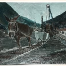 Arte: ÓLEO SOBRE TABLA. FIRMADO CARLOS CEBRIÁN REF 2. Lote 274778328