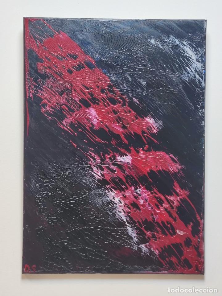 Arte: INFINALIDA Cuadro Acrilico en Lienzo D.S abstracto - Foto 3 - 274934273