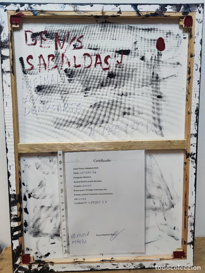 Arte: INFINALIDA Cuadro Acrilico en Lienzo D.S abstracto - Foto 6 - 274934273