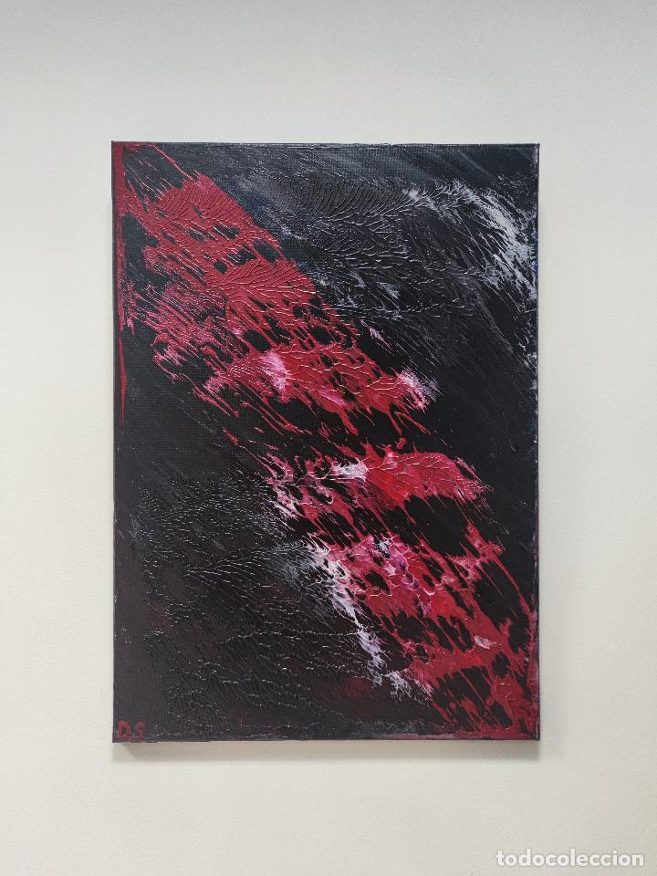 Arte: INFINALIDA Cuadro Acrilico en Lienzo D.S abstracto - Foto 4 - 274934273