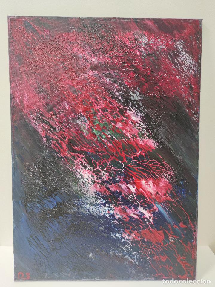 Arte: INFINALIDA Cuadro Acrilico en Lienzo D.S abstracto - Foto 5 - 274934273