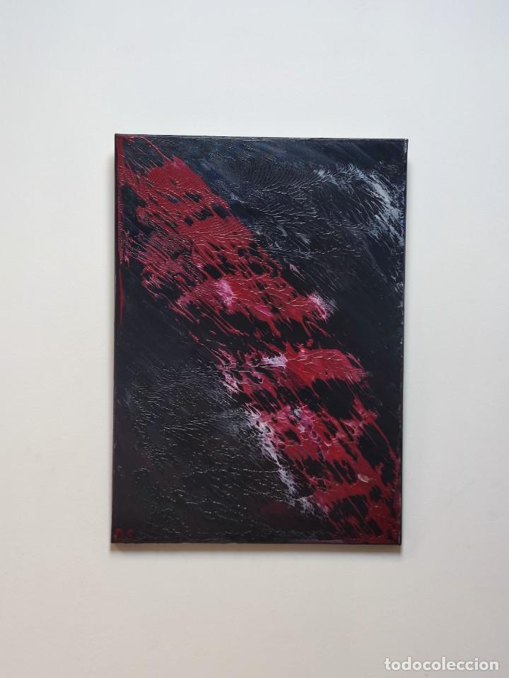 Arte: INFINALIDA Cuadro Acrilico en Lienzo D.S abstracto - Foto 2 - 274934273