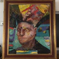 Arte: IMPRESIONANTE OLEO SOBRE LIENZO, ENMARCADO. Lote 275028903