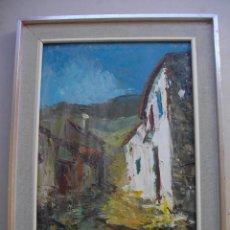 Arte: OLEO SOBRE LIENZO ATRIBUIBLE A MARTINEZ COLOMER ( TABLILLA DE MADERA CON MARCO) 52 X 37. Lote 275127288