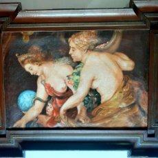 Arte: PRECIOSA PINTURA DE MUSEO , OLEO SOBRE LIENZO , DIOSAS MITOLOGICAS. Lote 275149003