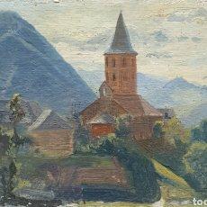Arte: ISIDRO ODENA DAURA (TERRASSA, 1910-2008) - 2 PAISAJES.OLEOS.FIRMADOS.TITULADOS.. Lote 275145528