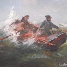 Arte: INUSUAL TEMA ,PINTURA AL OLEO SOBRE LIENZO JOSE LUIS CHECA. Lote 275269473